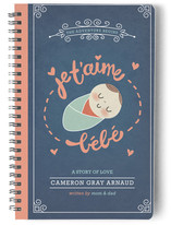 Je T&#039;aime Bebe Journals