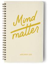 mind over matter Notebooks