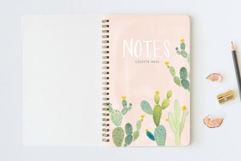 Prickly Pear Cactus Garden Notebooks