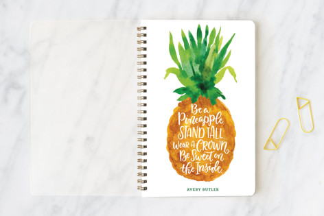 Be A Pineapple Notebooks