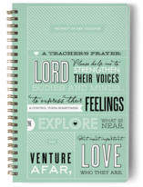 A Teacher&#039;s Prayer Journals