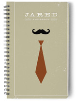 Mr. Moustache and Tie Journals