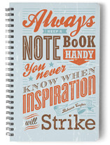 Typography Inspirations Journals