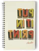 Wood Type Journals
