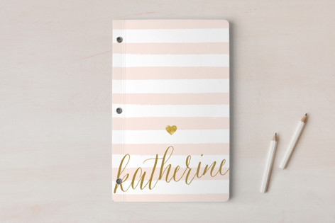 Glitter Heart Notebooks