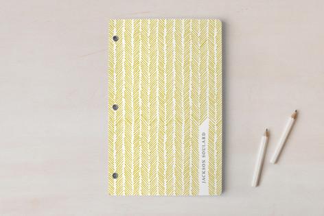 Herringbone Hatch Notebooks