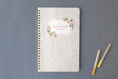 Woodland Botanicals Notebooks