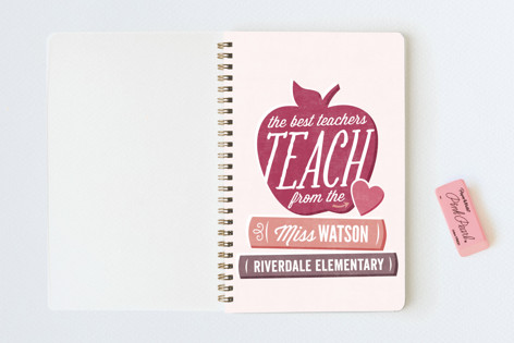Teach From The Heart. Notebooks