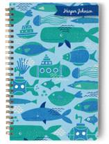 Sea Life Blue by Amiee Sue Designs