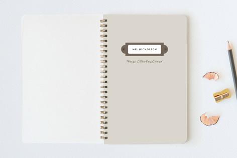 Nameplate Notebooks