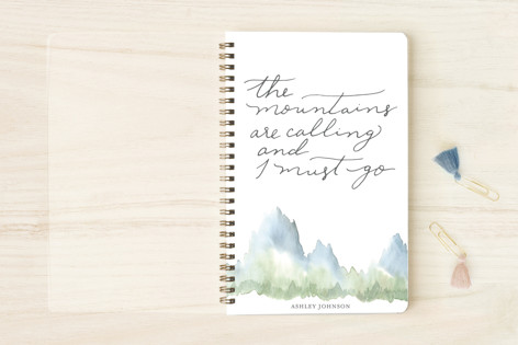 Mountains Notebooks