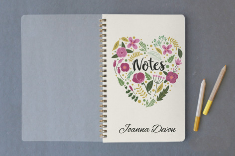 Notes of the Heart Notebooks