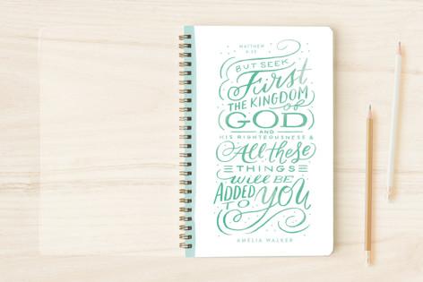 Seek First Notebooks