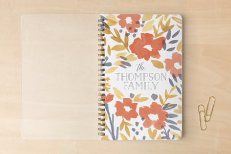 Family Floral Notebooks