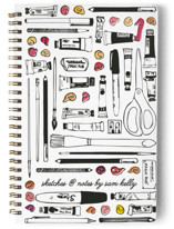 Paints And Pencils Notebooks