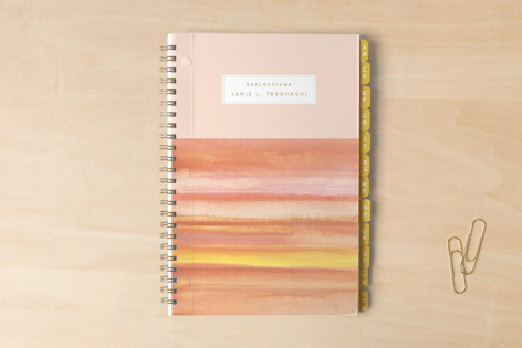 Watercolor Sunset Notebooks