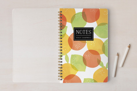 Citrus Splash Notebooks