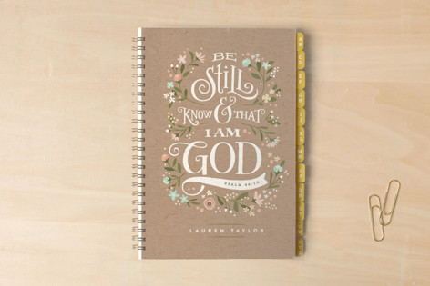 Be Still Notebooks