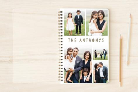 My Family Scrapbook Notebooks