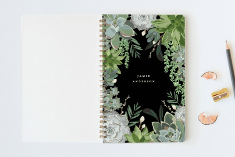 Wild Succulents Notebooks