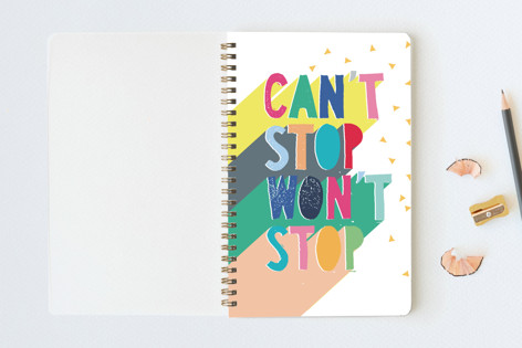 Can't Stop Notebooks