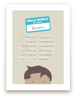 Hello World Art Prints