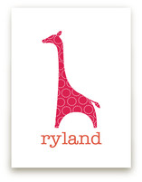 Patterned Giraffe Art Prints