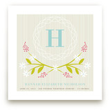 Initial Wreath Art Prints