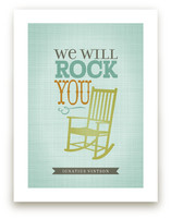We will Rock You Art Prints