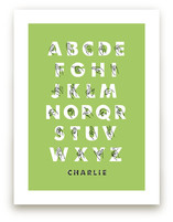 Signed ABCs Art Prints