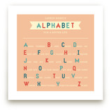 Alphabet for a Better Life Art Prints