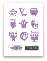Monster Math Art Prints