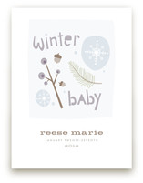 Winter Baby Art Prints