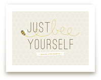 Bee Yourself Art Prints