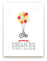 Dream Big and Believe Art Prints