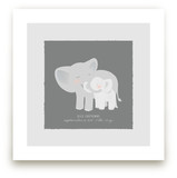 A Mother's Love - Elephants Art Prints