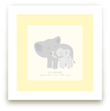 A Mother&#039;s Love - Elephants Art Prints
