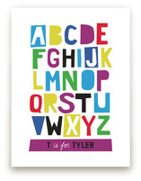 Paper Cut ABCs Art Prints