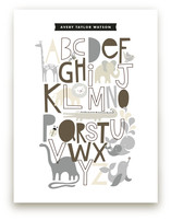 Animals Alphabet Art Prints