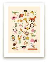 Animal A to Z by Anais Lee