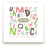 Alphabet Soup for Her Art Prints