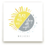 Play All Day, Sleep All Night Art Prints
