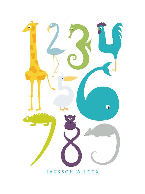 Numbered Animals   Danie Romrell