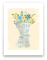 Newspaper Bouquet Art Prints