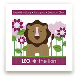 Zodiac Baby Leo Art Prints