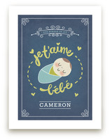 Je T'aime Bebe Art Prints