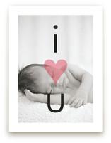I Heart U by Precious Bugarin Design