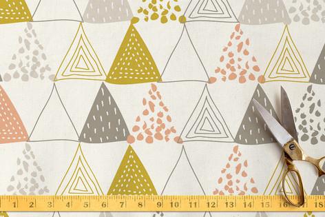 Oh So Triangular Fabric