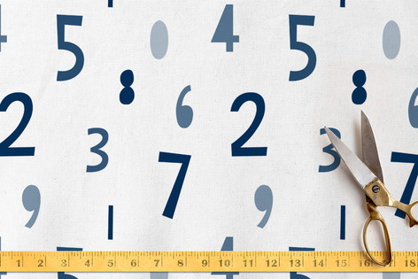 Number Crunch Fabric