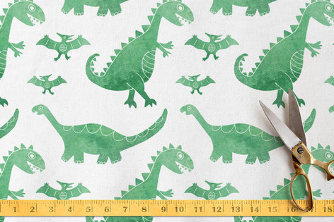 Dino Dye Fabric